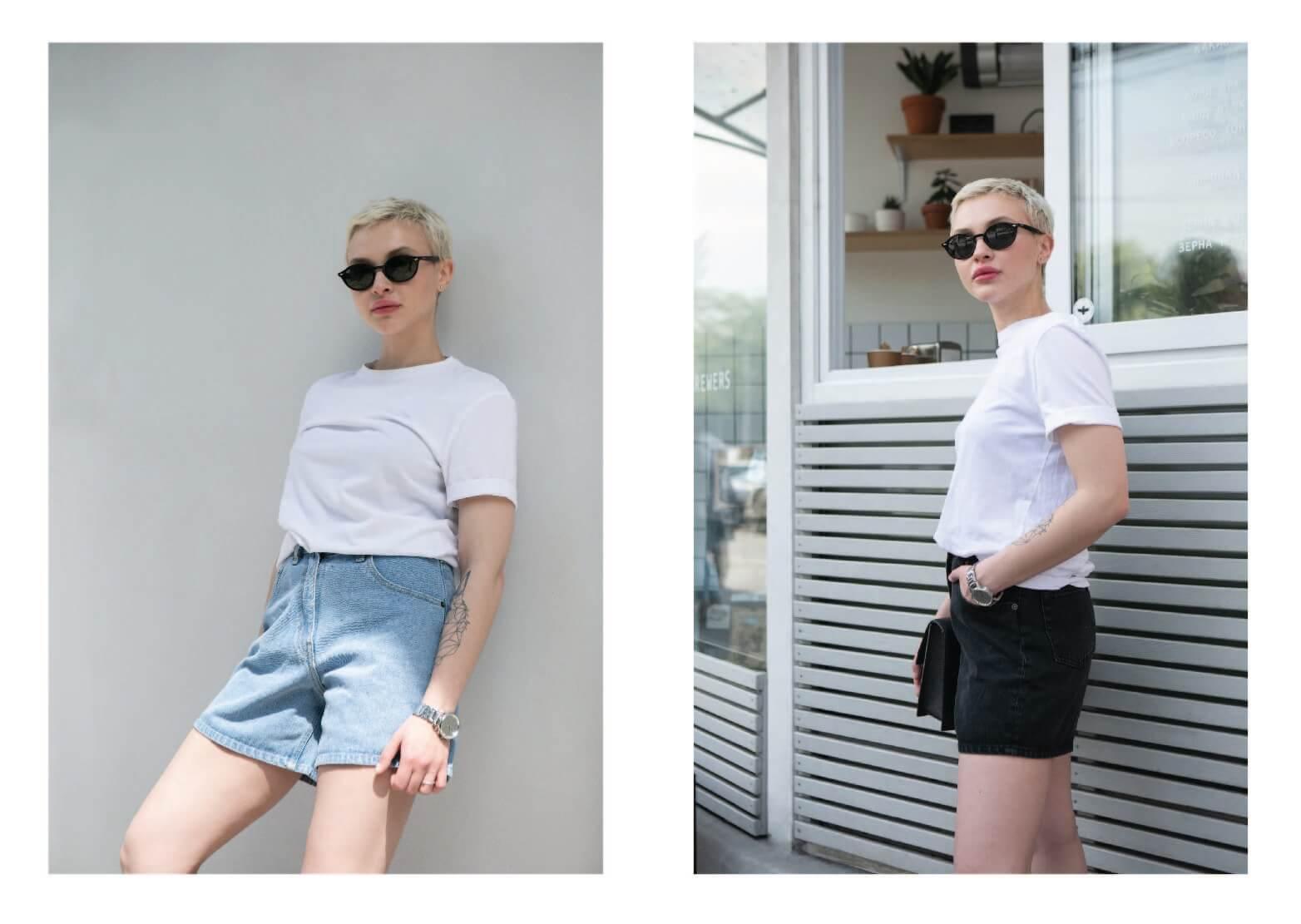 -Окей, Google, найди мне джинсовые шорты на лето!