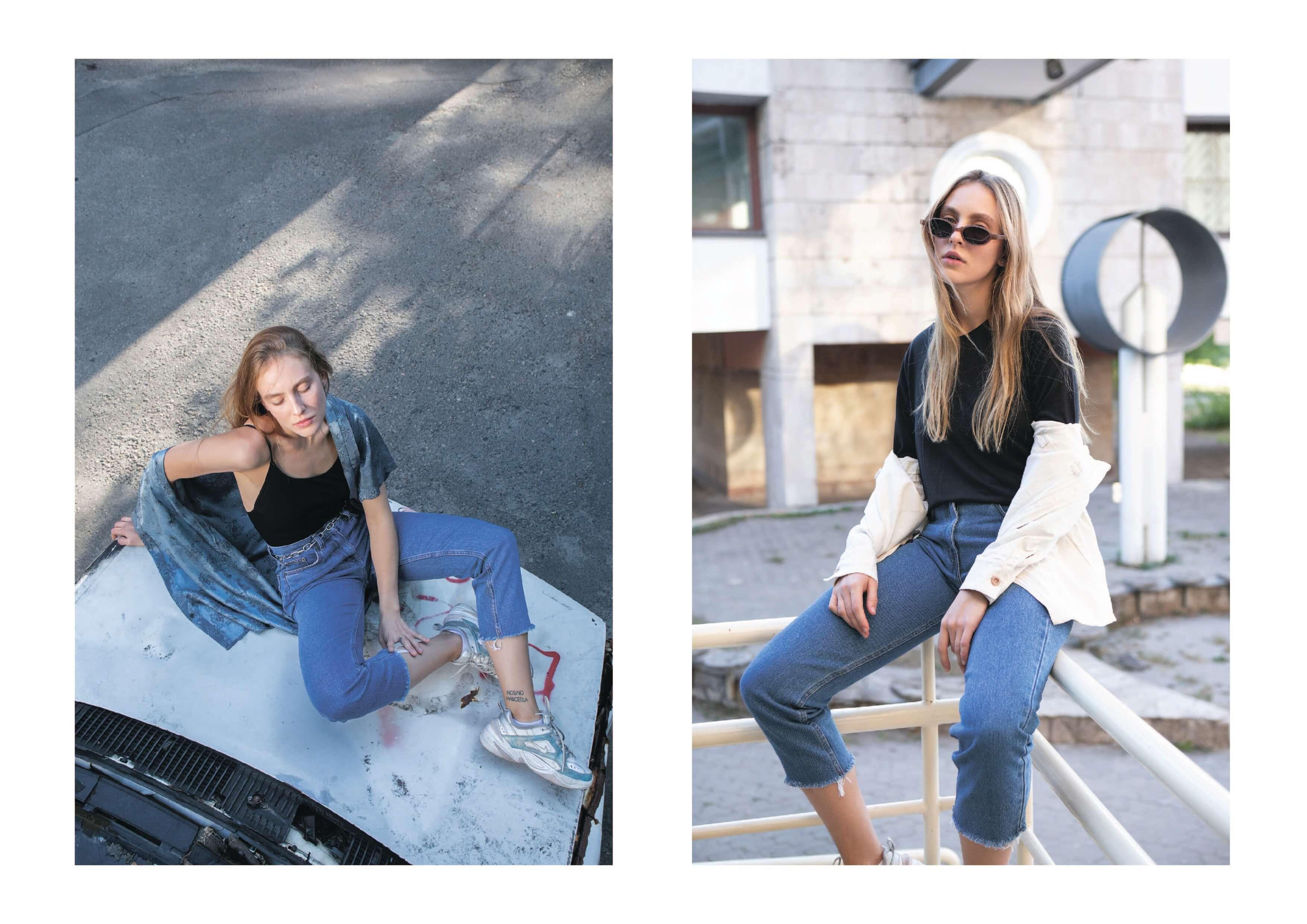 MINNIM Cropped Jeans